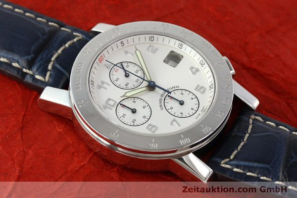 Used luxury watch Girard Perregaux 7000 chronograph steel automatic Kal. 8000-614 Ref. 7000  | 151330 12