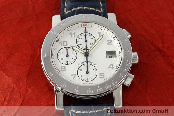 Used luxury watch Girard Perregaux 7000 chronograph steel automatic Kal. 8000-614 Ref. 7000  | 151330 13