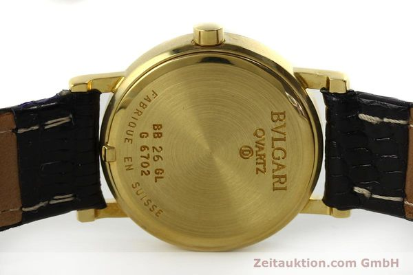 Used luxury watch Bvlgari Bvlgari 18 ct gold quartz Kal. ETA 956032 Ref. BB26GL  | 151332 09