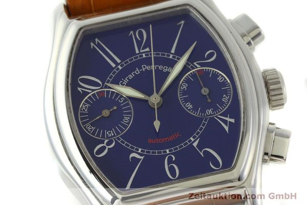 Used luxury watch Girard Perregaux Richeville chronograph steel automatic Kal. 2280-881 Ref. 2750  | 151333 02