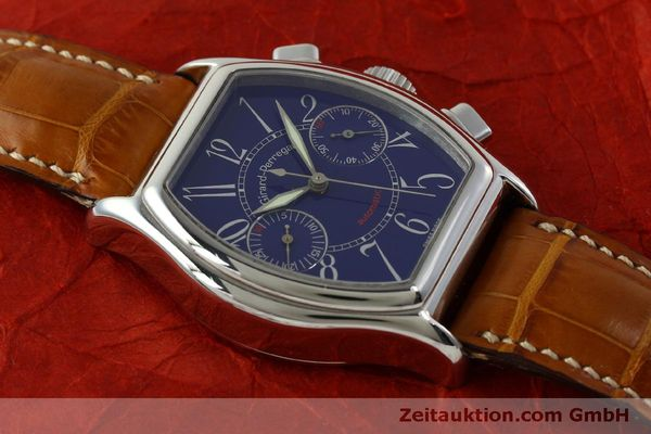 Used luxury watch Girard Perregaux Richeville chronograph steel automatic Kal. 2280-881 Ref. 2750  | 151333 13