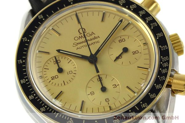 Used luxury watch Omega Speedmaster chronograph steel / gold automatic Kal. 1140  | 151334 02