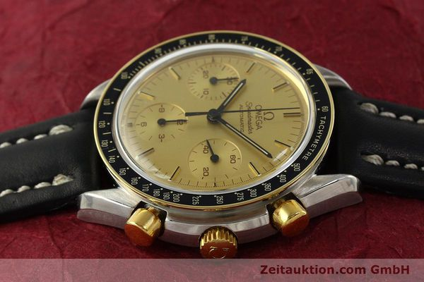 Used luxury watch Omega Speedmaster chronograph steel / gold automatic Kal. 1140  | 151334 05