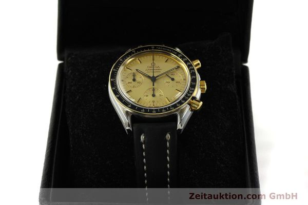 Used luxury watch Omega Speedmaster chronograph steel / gold automatic Kal. 1140  | 151334 07