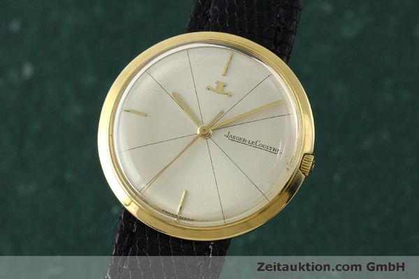 Used luxury watch Jaeger Le Coultre * 18 ct gold manual winding Kal. 819/C  | 151339 04
