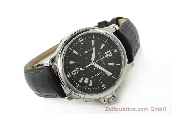 Used luxury watch Jaeger Le Coultre Master Compressor chronograph steel quartz Kal. 630/1 Ref. 148.8.31  | 151343 03