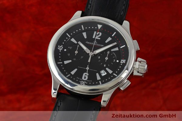 Used luxury watch Jaeger Le Coultre Master Compressor chronograph steel quartz Kal. 630/1 Ref. 148.8.31  | 151343 04