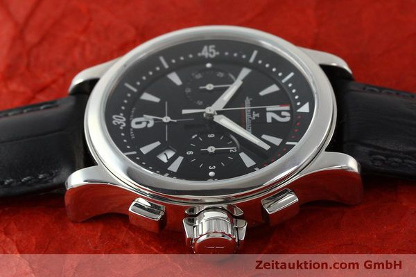 Used luxury watch Jaeger Le Coultre Master Compressor chronograph steel quartz Kal. 630/1 Ref. 148.8.31  | 151343 05