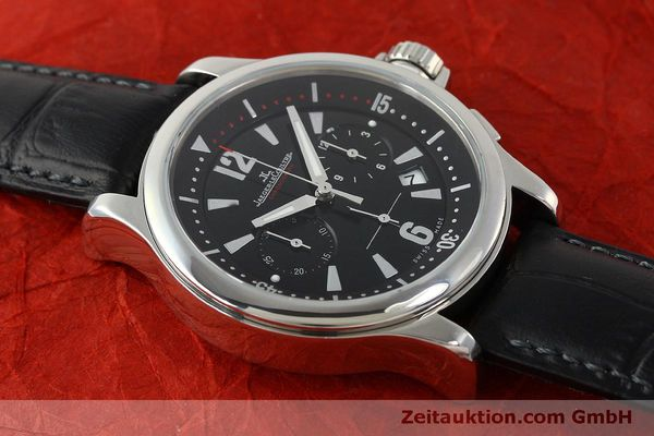 Used luxury watch Jaeger Le Coultre Master Compressor chronograph steel quartz Kal. 630/1 Ref. 148.8.31  | 151343 15