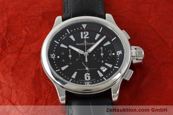 Used luxury watch Jaeger Le Coultre Master Compressor chronograph steel quartz Kal. 630/1 Ref. 148.8.31  | 151343 16