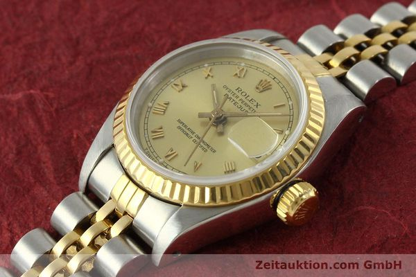 Used luxury watch Rolex Lady Datejust steel / gold automatic Kal. 2135 Ref. 69173  | 151351 01