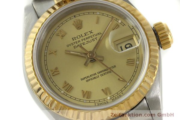 Used luxury watch Rolex Lady Datejust steel / gold automatic Kal. 2135 Ref. 69173  | 151351 02