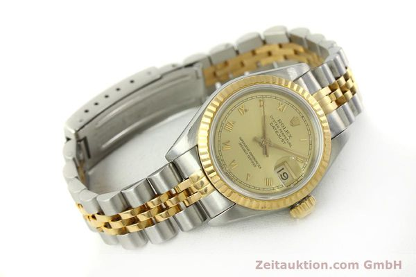 Used luxury watch Rolex Lady Datejust steel / gold automatic Kal. 2135 Ref. 69173  | 151351 04
