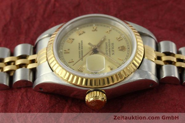 Used luxury watch Rolex Lady Datejust steel / gold automatic Kal. 2135 Ref. 69173  | 151351 06