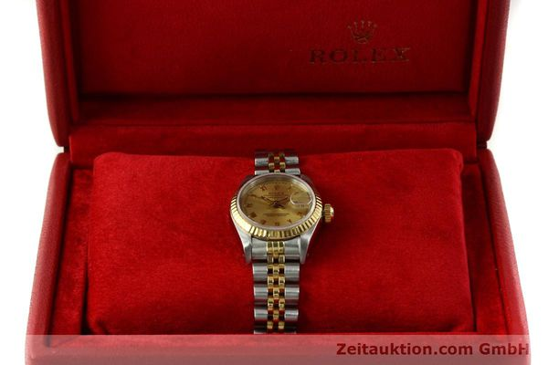 Used luxury watch Rolex Lady Datejust steel / gold automatic Kal. 2135 Ref. 69173  | 151351 08