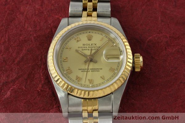 Used luxury watch Rolex Lady Datejust steel / gold automatic Kal. 2135 Ref. 69173  | 151351 16