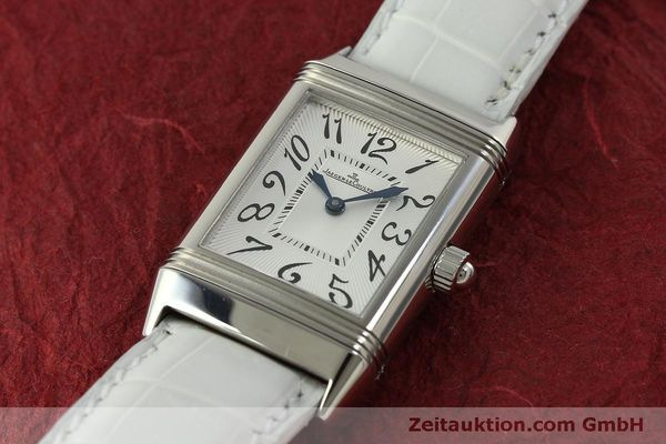 Used luxury watch Jaeger Le Coultre Reverso steel manual winding Kal. 865 Ref. 256.8.75  | 151354 01