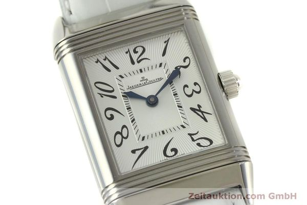 Used luxury watch Jaeger Le Coultre Reverso steel manual winding Kal. 865 Ref. 256.8.75  | 151354 02