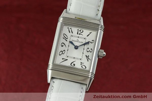 Used luxury watch Jaeger Le Coultre Reverso steel manual winding Kal. 865 Ref. 256.8.75  | 151354 04