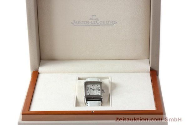 Used luxury watch Jaeger Le Coultre Reverso steel manual winding Kal. 865 Ref. 256.8.75  | 151354 07