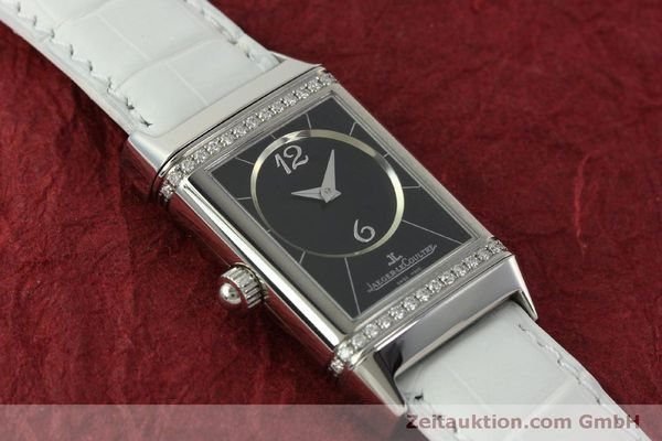 Used luxury watch Jaeger Le Coultre Reverso steel manual winding Kal. 865 Ref. 256.8.75  | 151354 14