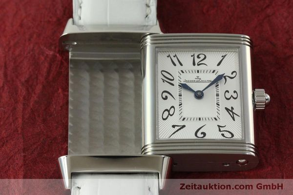 Used luxury watch Jaeger Le Coultre Reverso steel manual winding Kal. 865 Ref. 256.8.75  | 151354 15