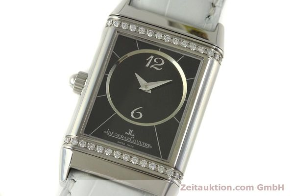 Used luxury watch Jaeger Le Coultre Reverso steel manual winding Kal. 865 Ref. 256.8.75  | 151354 16