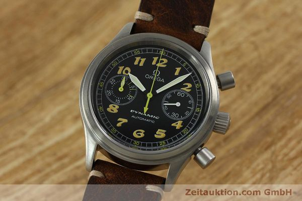 Omega dynamic chronograph stahl automatik for Designklassiker replica