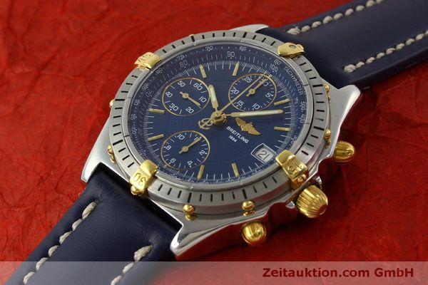 Used luxury watch Breitling Chronomat chronograph steel / gold automatic Kal. B13 ETA 7750 Ref. B13048  | 151359 01