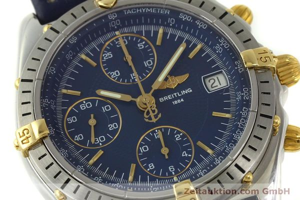 Used luxury watch Breitling Chronomat chronograph steel / gold automatic Kal. B13 ETA 7750 Ref. B13048  | 151359 02