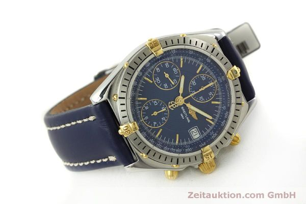 Used luxury watch Breitling Chronomat chronograph steel / gold automatic Kal. B13 ETA 7750 Ref. B13048  | 151359 03