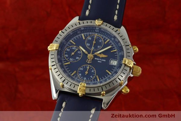 Used luxury watch Breitling Chronomat chronograph steel / gold automatic Kal. B13 ETA 7750 Ref. B13048  | 151359 04
