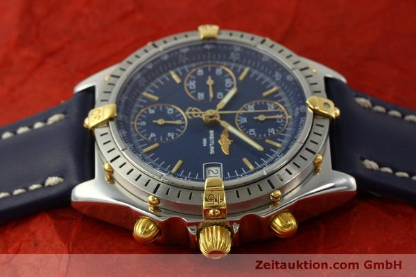 Used luxury watch Breitling Chronomat chronograph steel / gold automatic Kal. B13 ETA 7750 Ref. B13048  | 151359 05