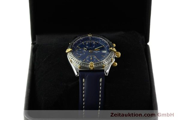 Used luxury watch Breitling Chronomat chronograph steel / gold automatic Kal. B13 ETA 7750 Ref. B13048  | 151359 07