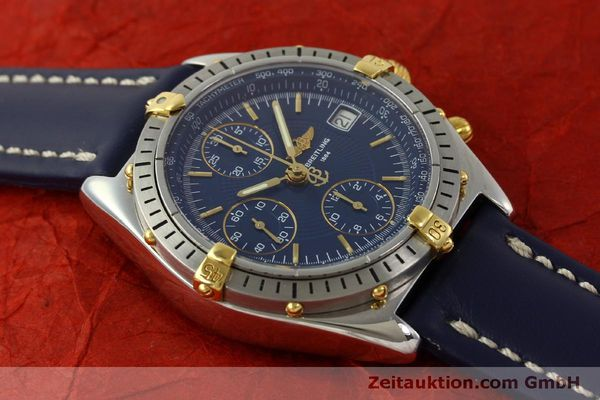 Used luxury watch Breitling Chronomat chronograph steel / gold automatic Kal. B13 ETA 7750 Ref. B13048  | 151359 13
