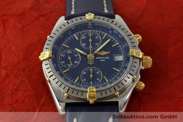 Used luxury watch Breitling Chronomat chronograph steel / gold automatic Kal. B13 ETA 7750 Ref. B13048  | 151359 14