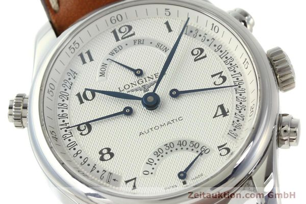 gebrauchte Luxusuhr Longines Master Collection Stahl Automatik Kal. L698.2 Ref. L2.715.4  | 151360 02