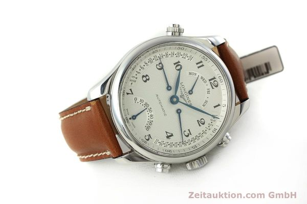 gebrauchte Luxusuhr Longines Master Collection Stahl Automatik Kal. L698.2 Ref. L2.715.4  | 151360 03