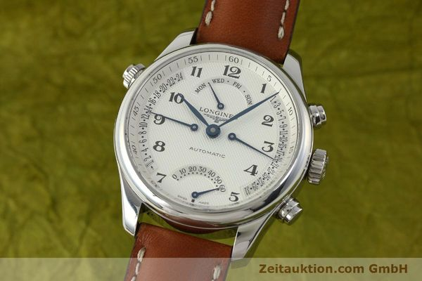 gebrauchte Luxusuhr Longines Master Collection Stahl Automatik Kal. L698.2 Ref. L2.715.4  | 151360 04