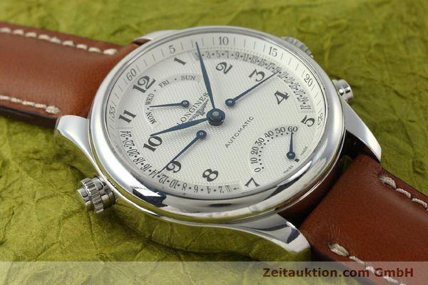 gebrauchte Luxusuhr Longines Master Collection Stahl Automatik Kal. L698.2 Ref. L2.715.4  | 151360 14