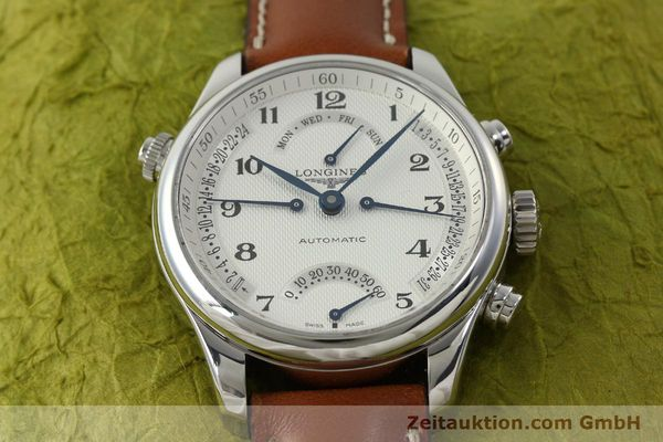 gebrauchte Luxusuhr Longines Master Collection Stahl Automatik Kal. L698.2 Ref. L2.715.4  | 151360 15
