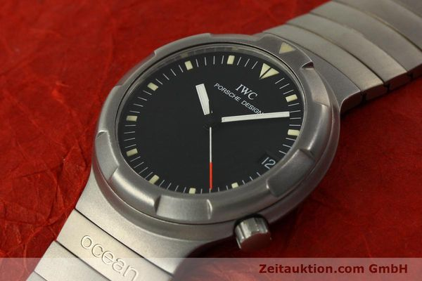 Used luxury watch IWC Porsche Design titanium automatic Kal. 37522 Ref. 3503.1  | 151363 01