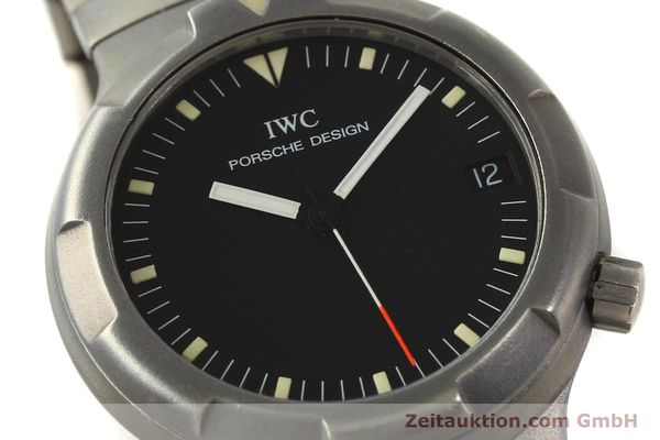 Used luxury watch IWC Porsche Design titanium automatic Kal. 37522 Ref. 3503.1  | 151363 02