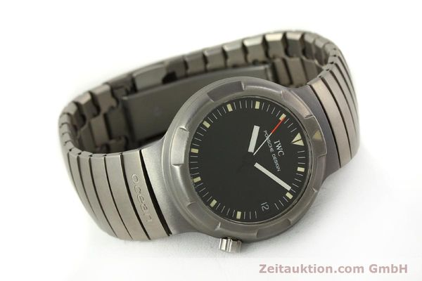 Used luxury watch IWC Porsche Design titanium automatic Kal. 37522 Ref. 3503.1  | 151363 03