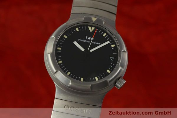Used luxury watch IWC Porsche Design titanium automatic Kal. 37522 Ref. 3503.1  | 151363 04