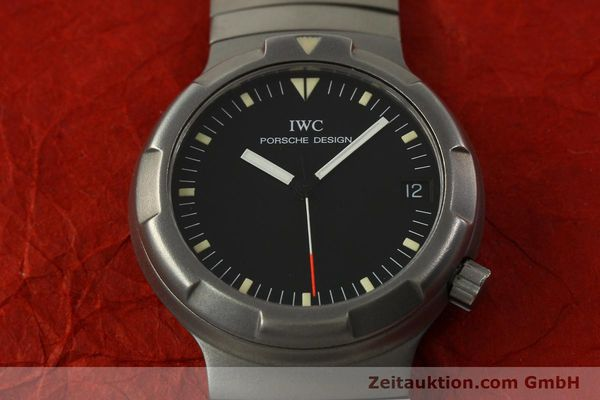 Used luxury watch IWC Porsche Design titanium automatic Kal. 37522 Ref. 3503.1  | 151363 17