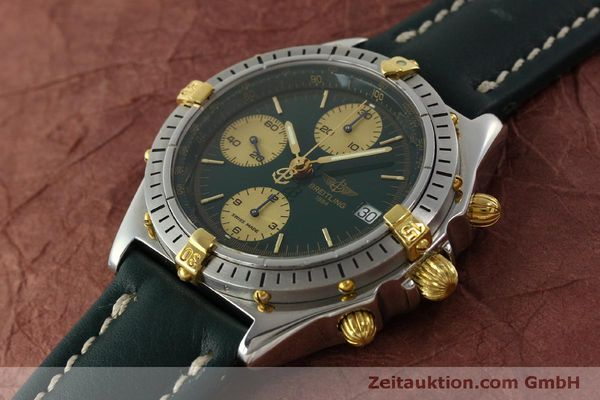 Used luxury watch Breitling Chronomat chronograph steel / gold automatic Kal. B13 ETA 7750 Ref. B13048  | 151364 01