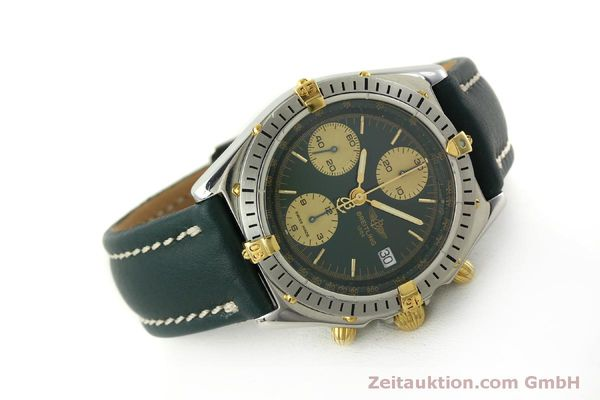 Used luxury watch Breitling Chronomat chronograph steel / gold automatic Kal. B13 ETA 7750 Ref. B13048  | 151364 03