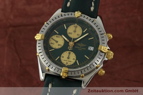 Used luxury watch Breitling Chronomat chronograph steel / gold automatic Kal. B13 ETA 7750 Ref. B13048  | 151364 04