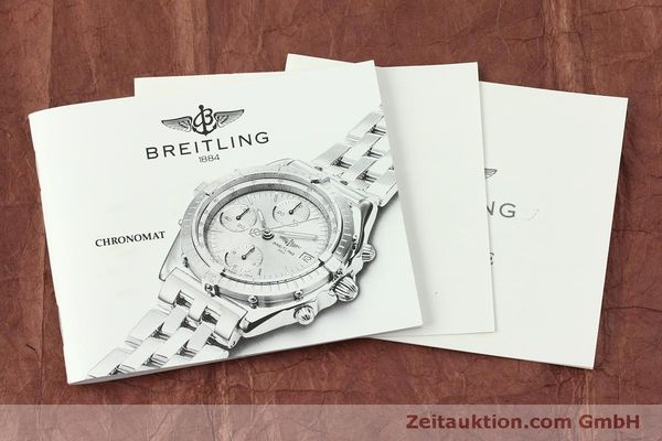Used luxury watch Breitling Chronomat chronograph steel / gold automatic Kal. B13 ETA 7750 Ref. B13048  | 151364 12